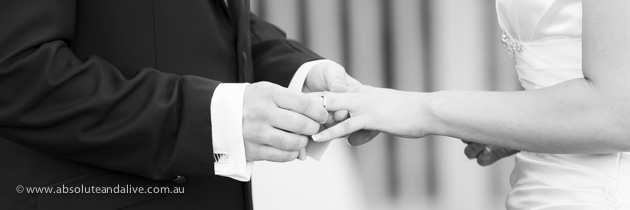 wedding ceremony, wedding rings